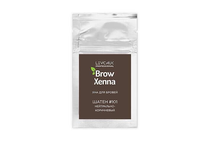 BrowXenna хна для бровей саше шатен (BrowHenna)