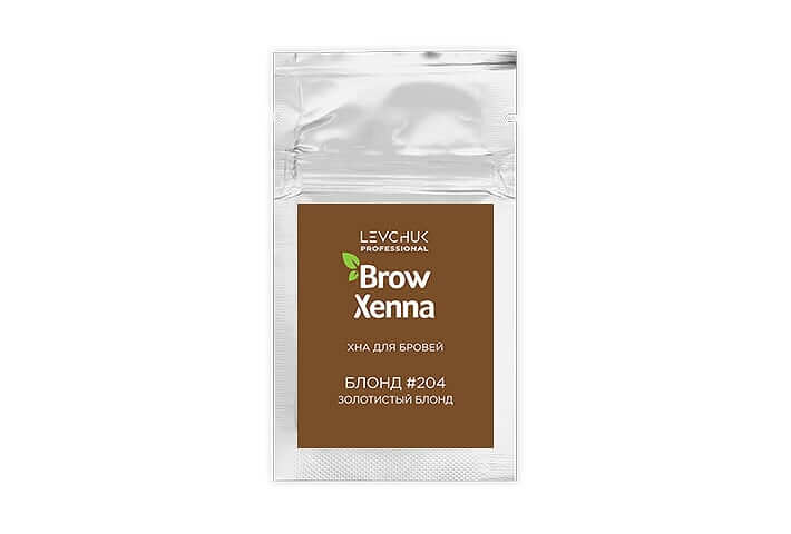 BrowXenna® хна для бровей саше блонд (BrowHenna)