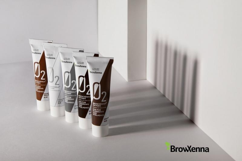 BrowHenna система умного окрашивания OXYGEN O2 (BrowXenna®)